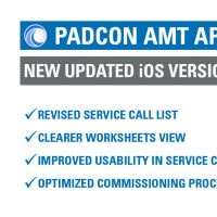 PADCON AMT RELEASE -  NEW iOS VERSION