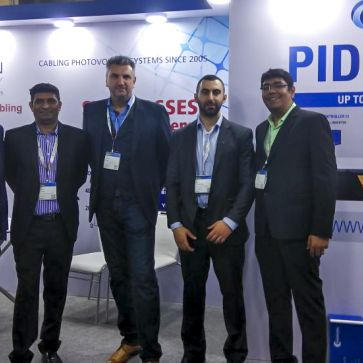 PADCON and Jurchen Technology together at the Intersolar India 2017 in Mumbai