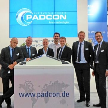 PADCON say´s thank you! Intersolar 2014